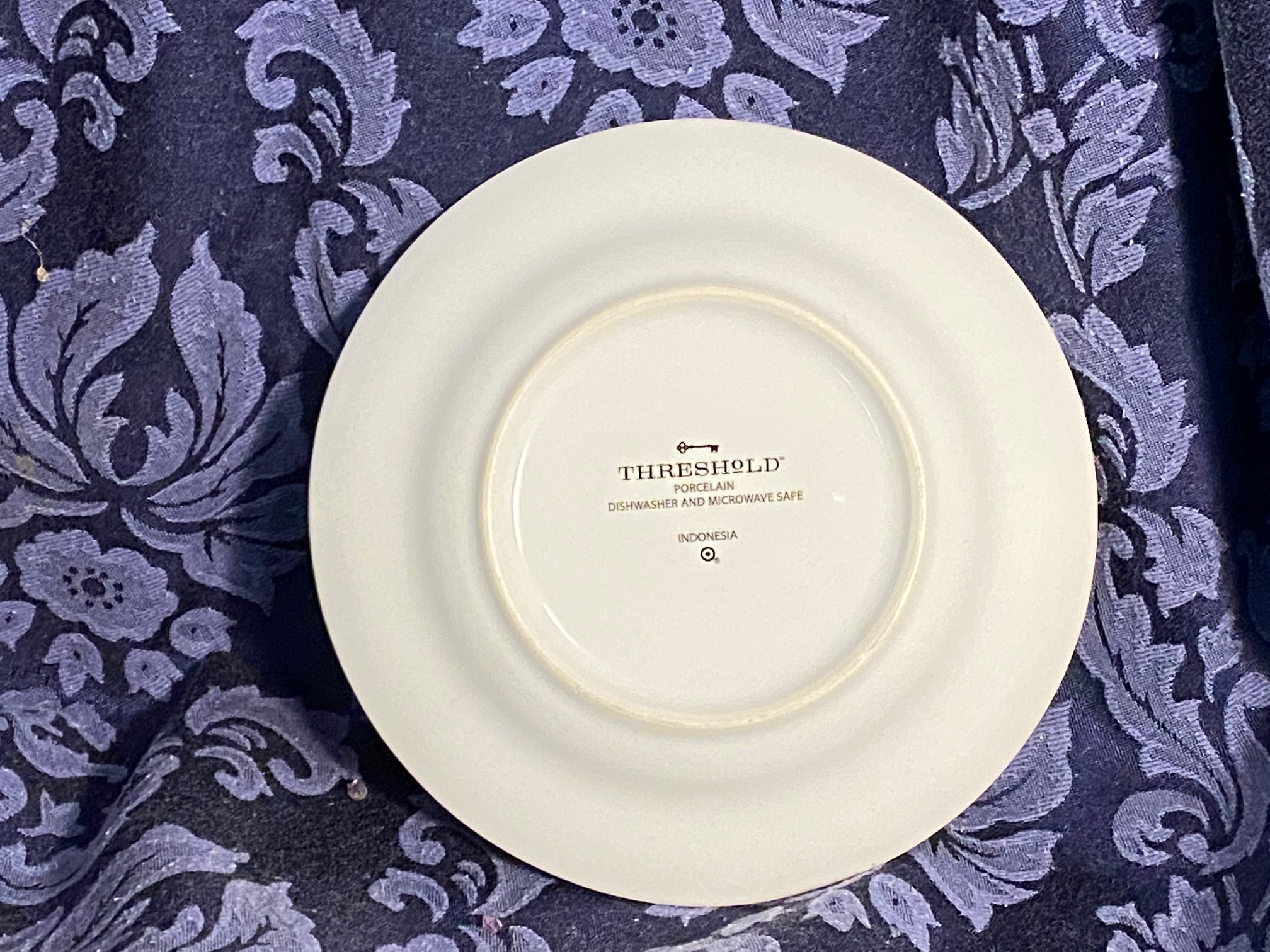 Some good news for a change! Target Threshold porcelain appetizer
