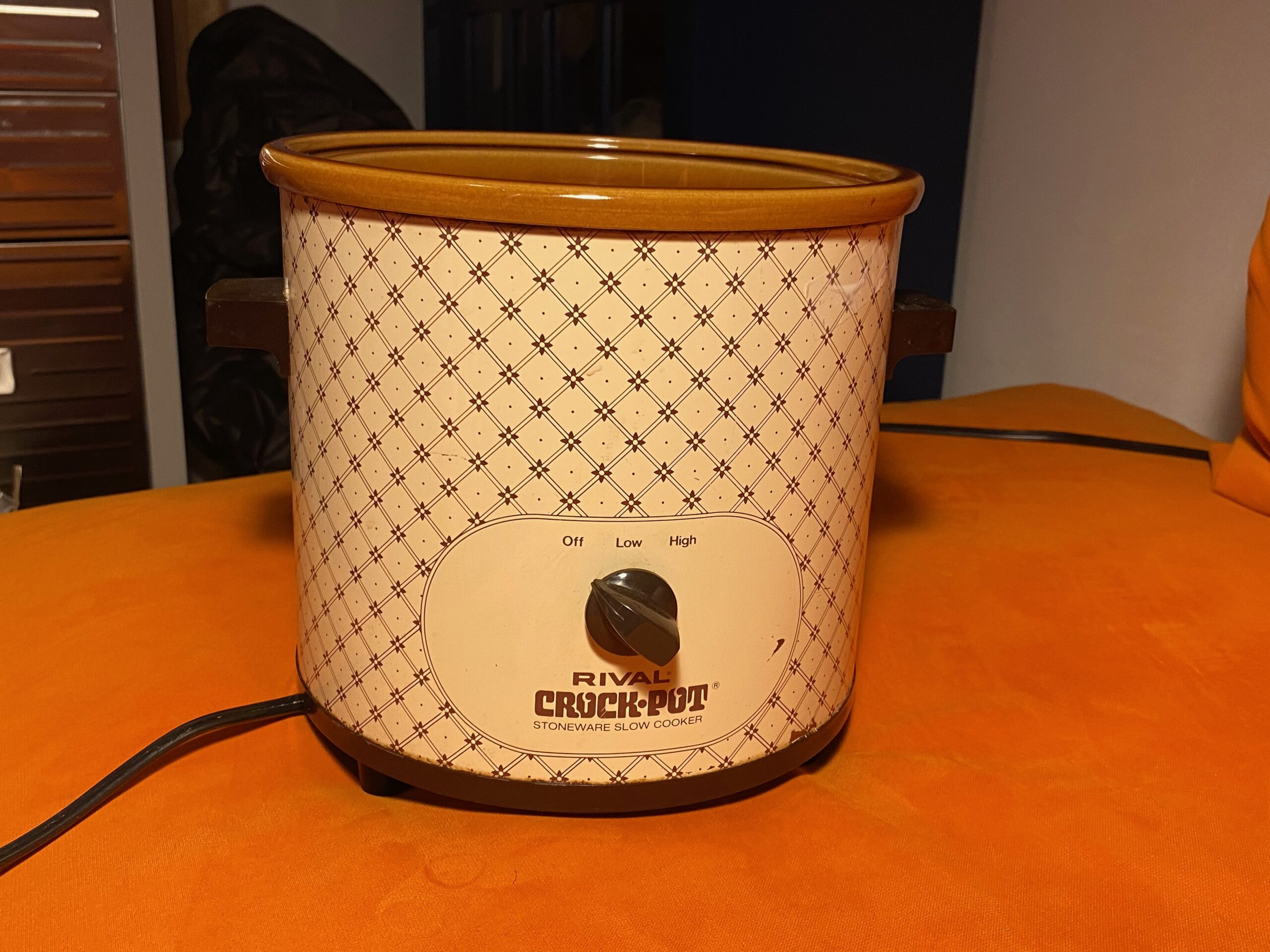 Rival Crock Pot Stoneware Slow Cooker