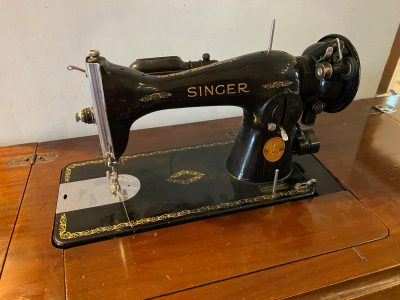 Is your grandmother's sewing machine dangerous? 1948 Singer Sewing Machine in Table: 6,238 ppm Lead (in the gold paint).