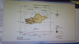 Evapotranspiration for Columbia Basin