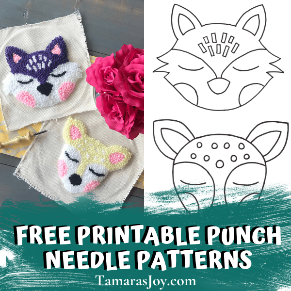 Free printable punch needle patterns