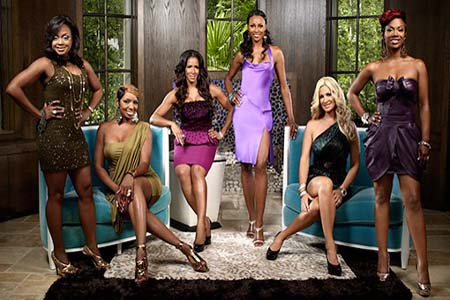 Real Housewives of Atlanta Friends Chart