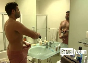Gratuitous Picture of Shah's of Sunset's Mike Shouhed, Shirtless