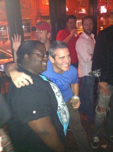 Andy Cohen in Atlanta Partying in Midtown