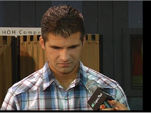 Caption This Pic of BB14 Shane During Interviews..