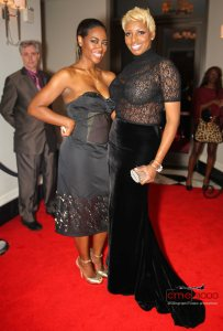 Nene Leakes and Kenya Moore at Nene's Christmas Party 2012