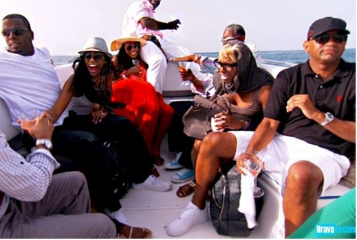 Real Housewives of Atlanta Anguilla Glam Squads and Whirling Dervishes