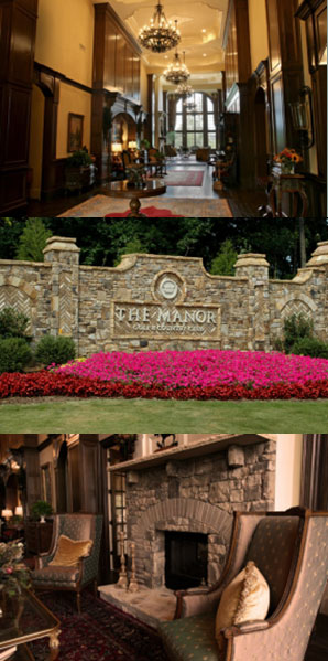 Photos from The Manor Golf and Country Club clubhouse Kim Zolciak's New Dream House!
