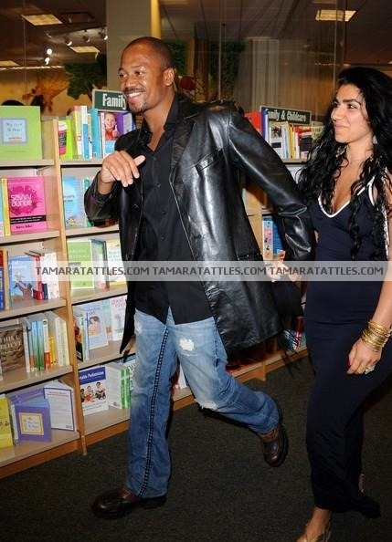 Jermaine Jackson Jr and shahs of sunset Asa Soltan Rahmati  dating at Andy Cohen's Book Signing at Sur. Who is Asa's Celeberity boyfriend?