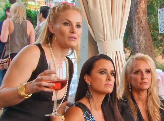 Real Houswives of Beverly Hills Recap: Faye Froths At the Mouth