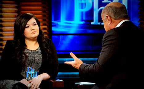 Teen Mom Amber Portwood On Dr. Phil