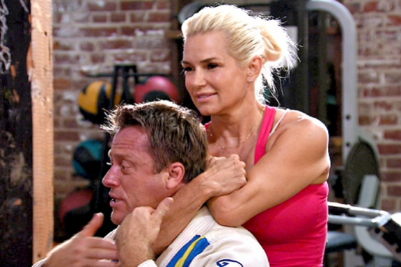 RHOBH Yolanda Self Defense