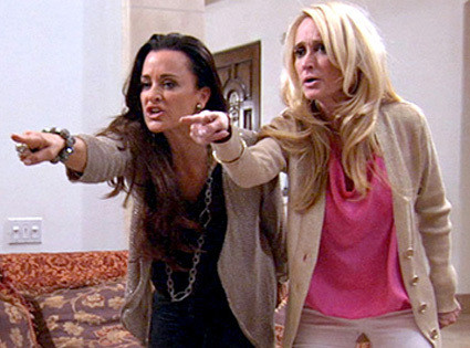 RHOBH Kyle and Kim Tag Team