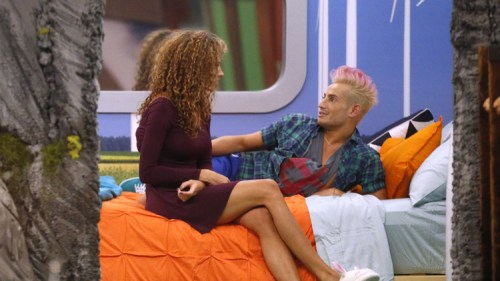 BB16 Amber and Frankie