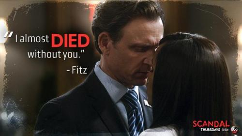 Scandal FItz almost died Olivia