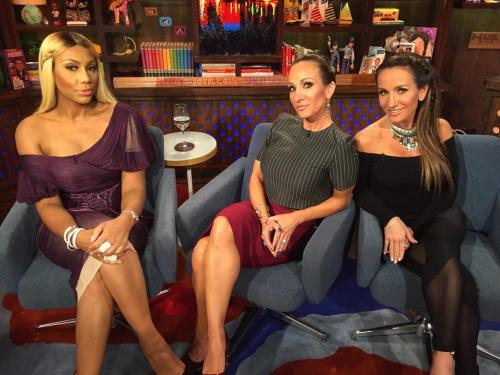 WWHL Tamar and Twins