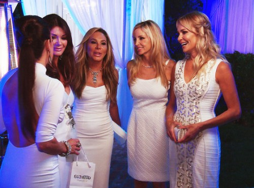 RHOBH WHite party