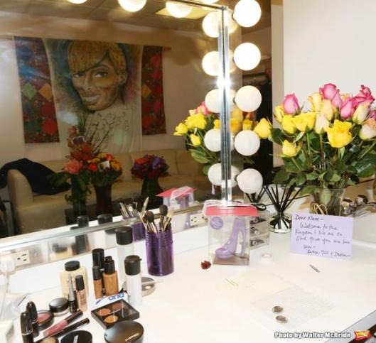 Nene's Dressing Room on The View...