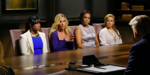 Celeb Apprentice Board room