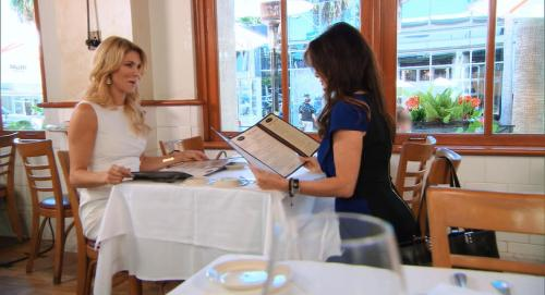 RHOBH Lisa Brandi Lunch