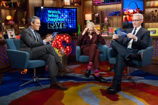 What's Going on With Andy Cohen & Kathy Griffin & Anderson Cooper & Teresa Giudice