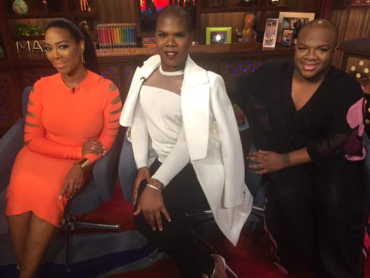 WWHL With Kenya Moore, Derek J and Miss Lawrence