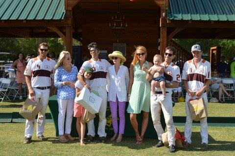 Southern Charm Thomas and Kathryn at Polo