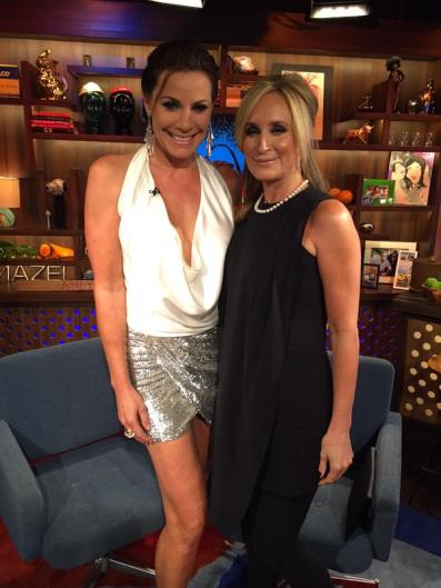 WWHL With Sonja Morgan & Luann de Lesseps Singing Live!