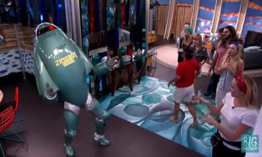 Big Brother Recap: Zingbot is ZIngle and Ready to Mingle!