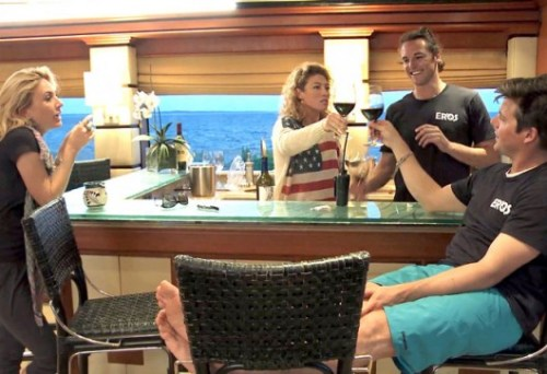 Below Deck cast shot