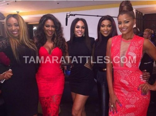 RHOA Demetria party with Kandi