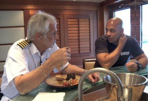 Below Deck Captain Lee Leon