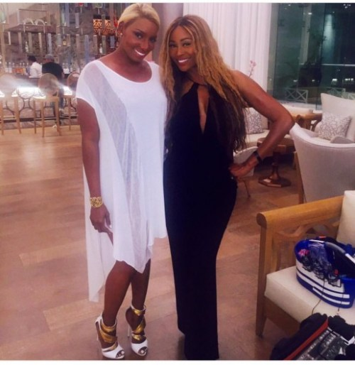 RHOA Nene and Cynthia Jamaica