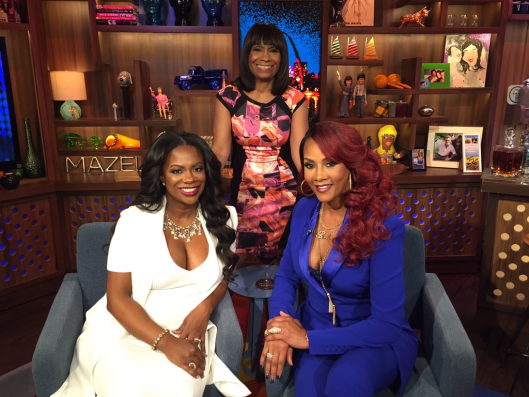 WWHL With Kandi Burruss and Mama Joyce!