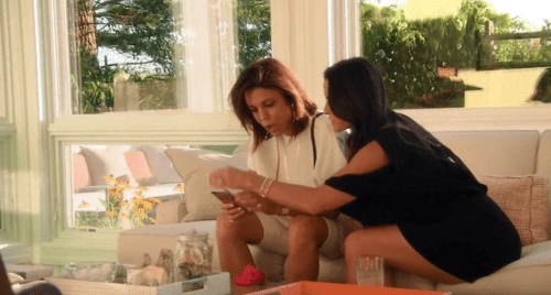 RHOBH Kyle and Bethenny Hamptons