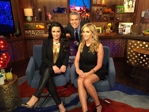 WWHL with kyle and camille