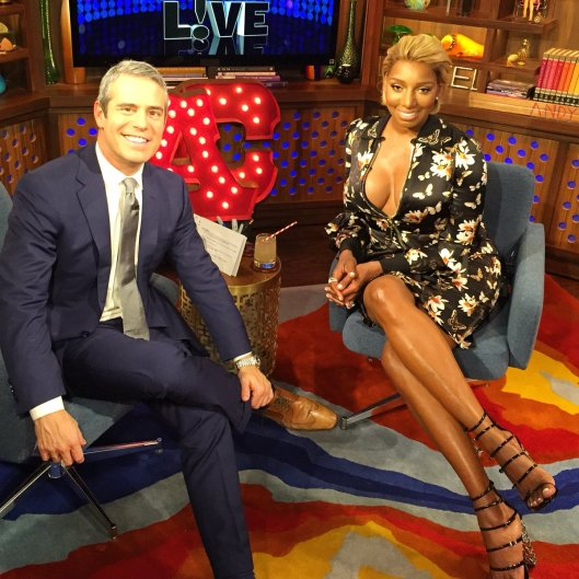 """WWHL With Nene Leakes """"I Don't Think Chris Is Fruity!"""""""