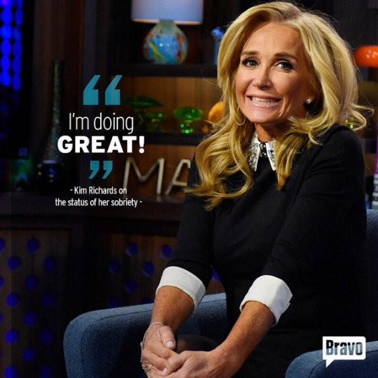Kim Richards on WWHL Recap: You Know How I Feel About You Know