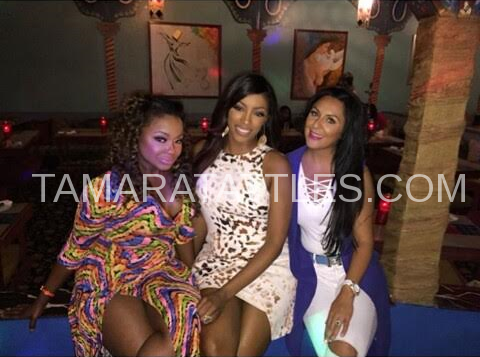 Phaedra and Porsha testing with their new competition, Maryam.