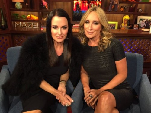 WWHL with Kyle Richards and Sonja Morgan