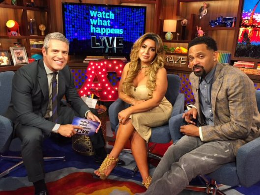 Mercedeh Javid on WWHL