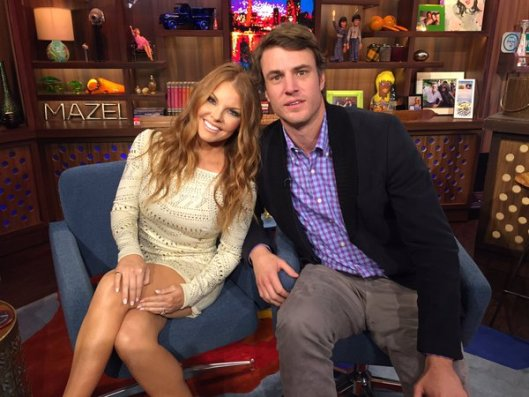 Shep Rose and Brandi Redmond on WWHL