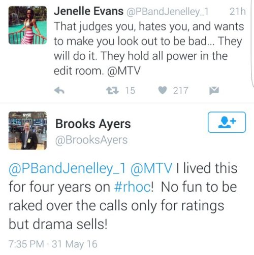 Jennelle and Brooks Tweets