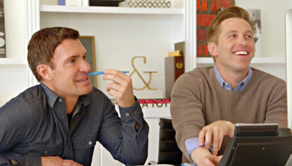 Jeff Lewis and Gage Edward