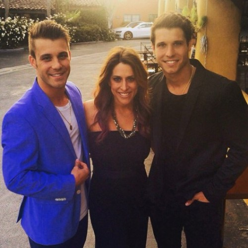 Big Brother Casting Director Robyn Kass with Paulie and Cody