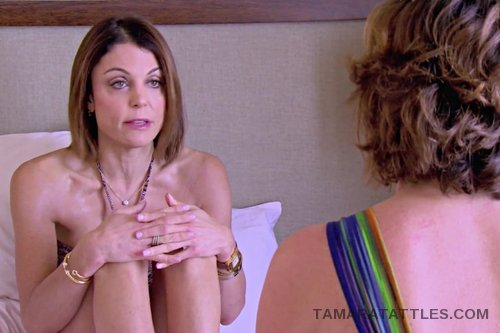 RHONY Bethenny bed