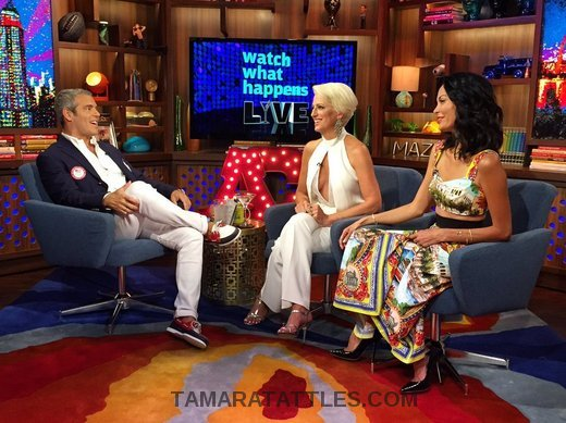 WWHL With Dorinda Medley and Jules Wainstein