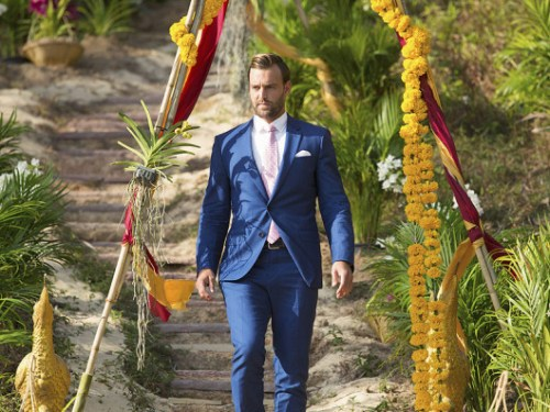 """THE BACHELORETTE - """"Episode 1210"""" - Season Finale - JoJo survived being blindsided last season after Ben Higgins told her he loved her, but proposed to Lauren Bushnell instead. As heart-wrenching a rejection as that was, she decided to take a risk for a second chance at finding love with one of 26 intriguing bachelors. After surviving shocking twists and turns and a journey filled with laughter, tears, love and controversy, JoJo narrowed down the field to two men – Jordan and Robby. Now, she finds herself in love with both of these captivating men and terribly torn between them. She can envision a future with both bachelors, but time is running out, on the Season Finale of """"The Bachelorette,"""" airing MONDAY, AUGUST 1 (8:00-10:00 p.m., ET), on the ABC Television Network. (ABC/Matt Klitscher) ROBBY"""