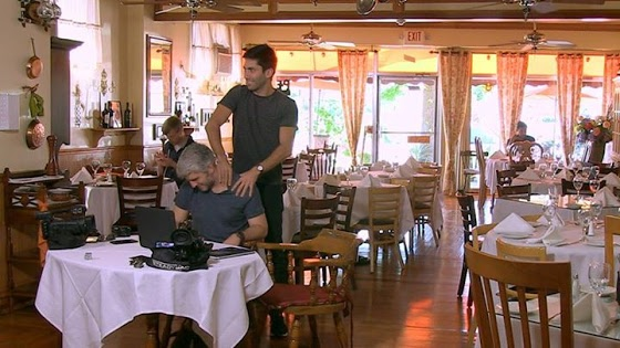 At least Nev and Max enjoyed this cafe. A lot.