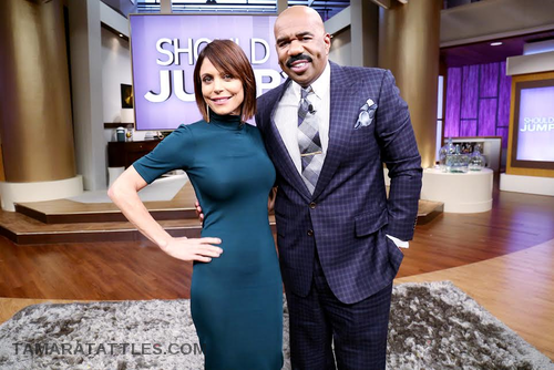 "Bethenny Frankel Shares ""Her Journey"" On Steve Harvey"